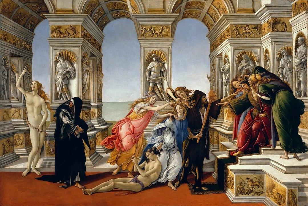 Sandro Botticelli, Calumny of Apelles