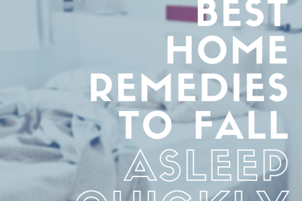home remedies to fall asleep quickly
