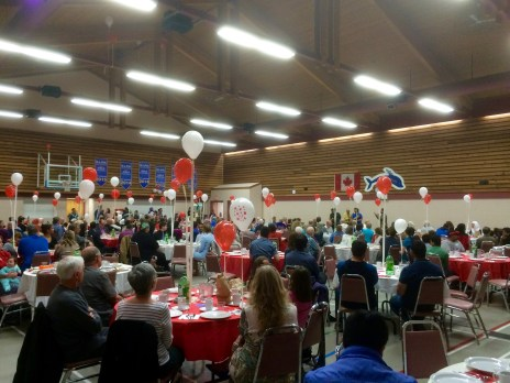 Syrian Refugee Fundraiser by the Kamloops Islamic Society.