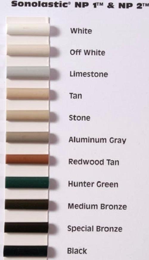 Np1 Caulk Color Chart Homeschoolingforfree