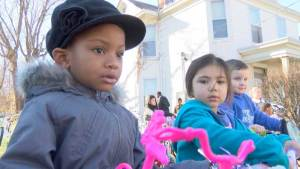 Master p Businessman and Rapper provides gifts for children affected by violence