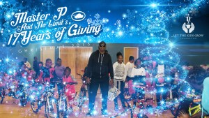 MASTER P 17TH ANNUAL CHRISTMAS EVENT: Over 1000 Kids Received Toys & Bikes