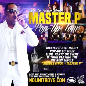 MASTER P's POP-UP TOUR COMING TO YOUR CITY
