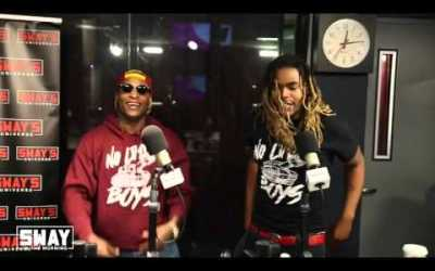 """MOE ROY & LAMBO PERFORM """"TO THE TOP I GO"""" ON SWAY"""