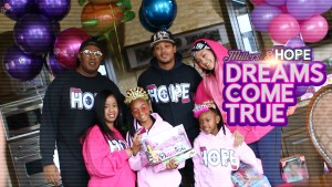 Master P, Romeo, Cymphonique Miller and Team H.O.P.E. help Make a Local Little Girl's Dream Come True