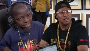 Master P Clears the Way For 14 Year Old Jarrius Robertson NBA Celebrity Game