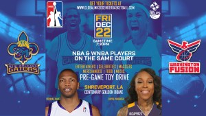 Master P's GMGB Co-ed Pro Basketball is Coming to Shreveport Dec 22nd 2017 for Family Fun!