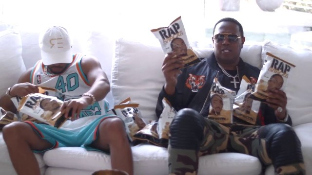 """MASTER P AND ROMEO: """"WE HAVE THE BEST TASTING CHIPS, RAP SNACKS"""""""