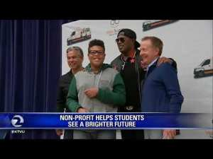 MASTER P AND VISION TO LEARN CELEBRATED IN THE BAY AREA SERVICING OVER 100,000 KIDS WITH FREE EYEGLASSES IN THE U.S.