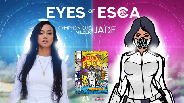 """CYMPHONIQUE MILLER GEARS UP TO PLAY THE LEAD ROLE  OF """"JADE"""" IN THE NEW SUPERHERO MOVIE FRANCHISE  """"EYES OF ESCA"""""""