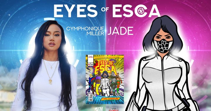"CYMPHONIQUE MILLER GEARS UP TO PLAY THE LEAD ROLE  OF ""JADE"" IN THE NEW SUPERHERO MOVIE FRANCHISE  ""EYES OF ESCA"""