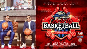MASTER P ANNOUNCES JULY 5TH DATE OF 2ND ANNUAL CELEBRITY BASKETBALL GAME