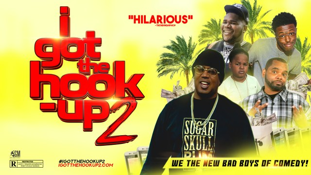 "MOVIE PRODUCER PERCY MILLER AKA MASTER P HAS ADDED MORE STAR POWER TO HIS CULT CLASSIC ""I GOT THE HOOK UP 2"""