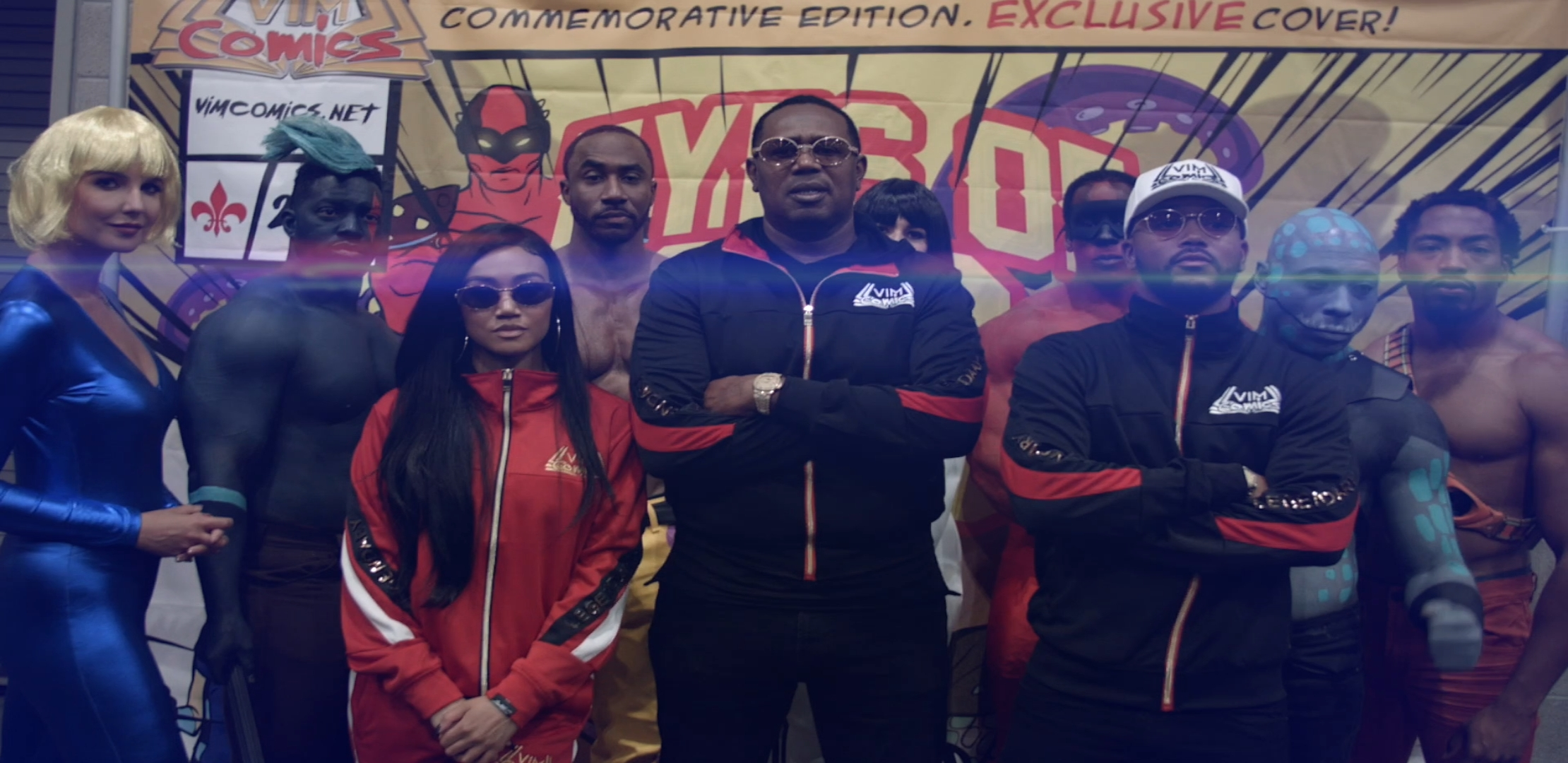 """MASTER P'S FAMILY VIM COMICS """"EYES OF ESCA"""" BEST NEW CHARACTERS AT COMIC-CON 2018"""