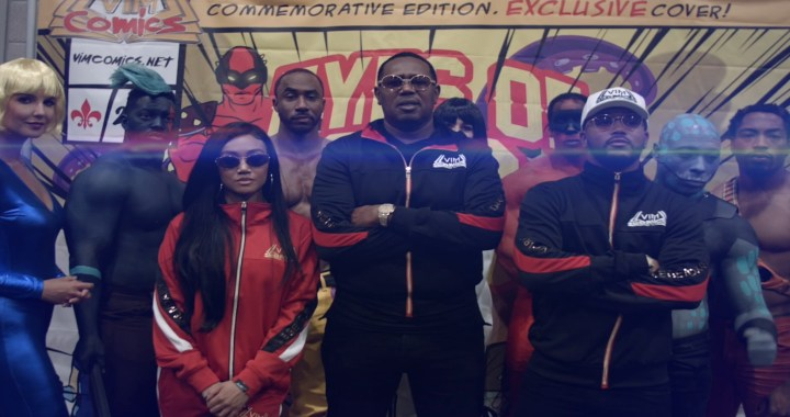 "MASTER P'S FAMILY VIM COMICS ""EYES OF ESCA"" BEST NEW CHARACTERS AT COMIC-CON 2018"