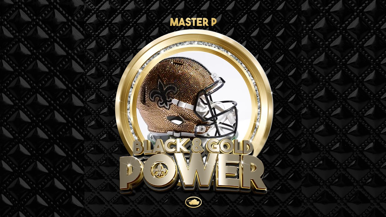 "Master P's New Orleans Saints Anthem ""BLACK & GOLD POWER"""