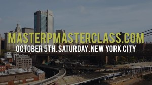 MASTER P MASTER CLASS EMPOWERING THE NEXT GENERATION JOIN THE MOVEMENT OCTOBER 5TH NEW YORK