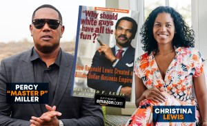 "Master P and Christina Lewis celebrate the life of Businessman ""Reginald Lewis"""