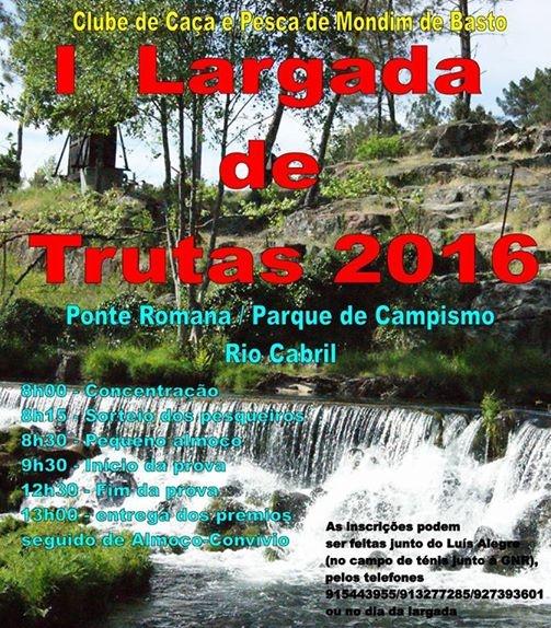 Largada de Trutas - Rio Cabril - Mondim de Basto - Março 2016