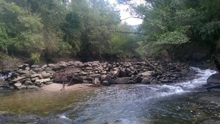 Rio Coura Covas finais de Agosto 2015 - 3