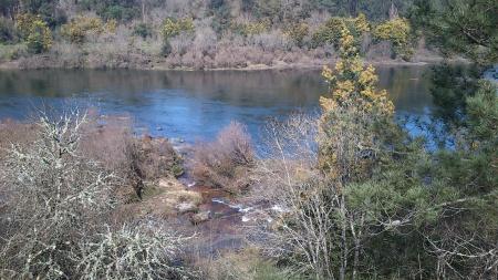Rio Minho Março correntes 2013