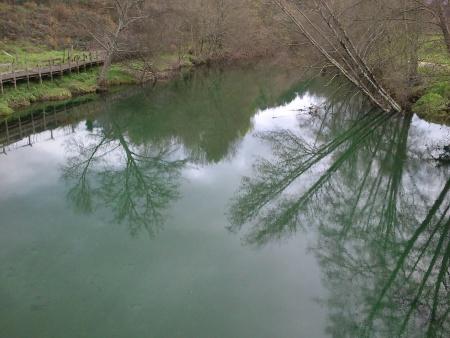 Rio Mouro águas paradas finais de Fevereiro 2016
