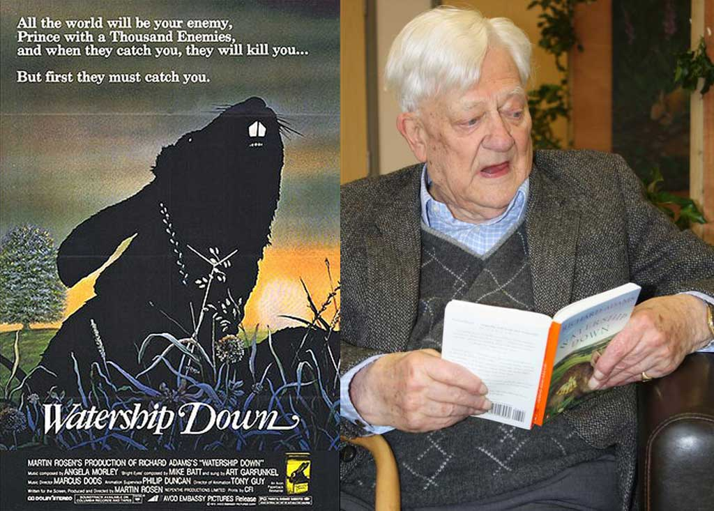 Richard Adams, author of Watership Down