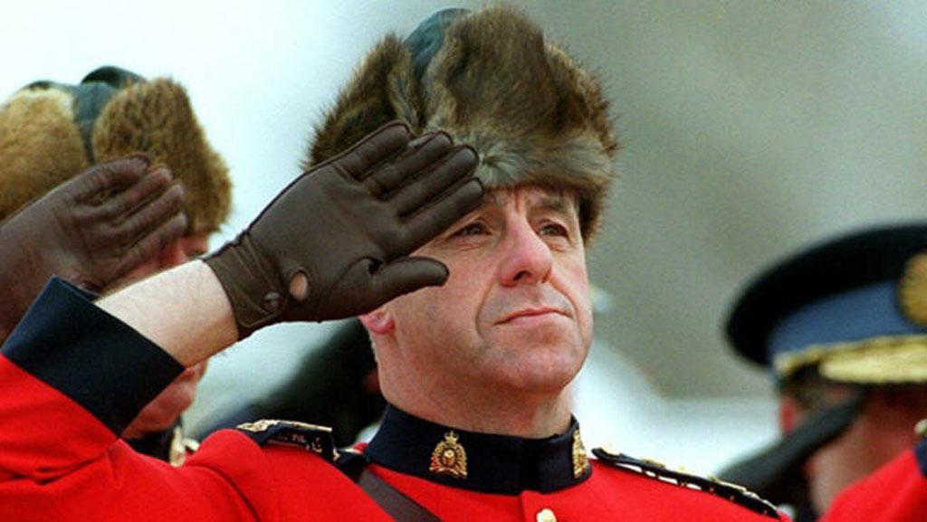Muskrat hats for RCMP