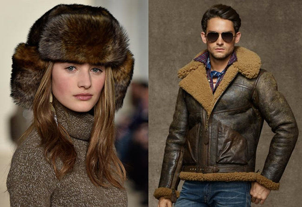 Ralph Lauren loves sheep fur