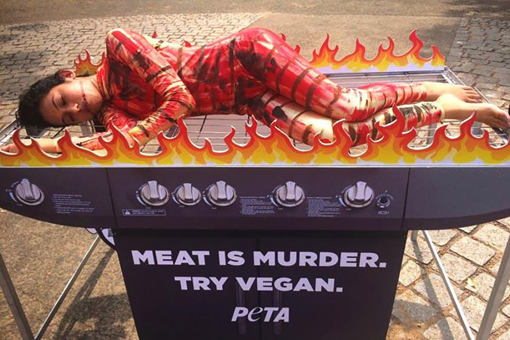 animal rightists say meat is murder