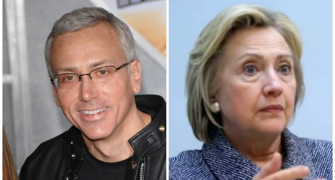 Dr. Drew: Hillary Clinton Could Die Suddenly From A Pulmonary Embolism