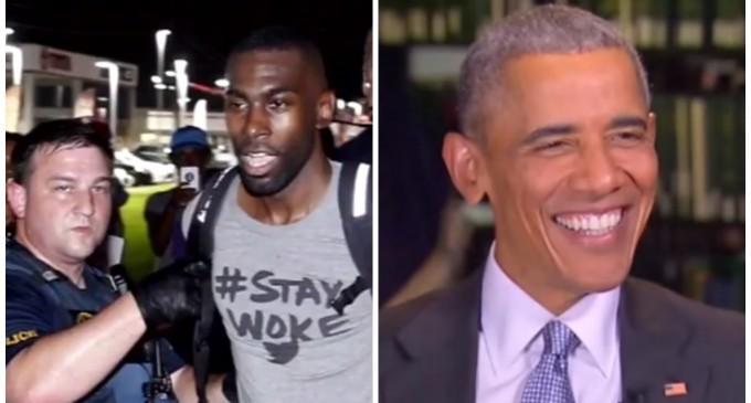 Barack Obama Holds Secret Meeting with Black Lives Matter Leaders After Dallas Attack