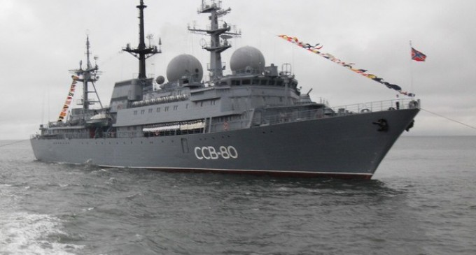 """Report: Russian Spy Ship now off Hawaiian Coast, U.S. taking """"all precautions necessary to protect our critical information"""""""