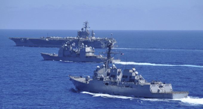 WWIII Pacific Theater: U.S. Sends Warships to South China Sea in Response to Chinese Aggression