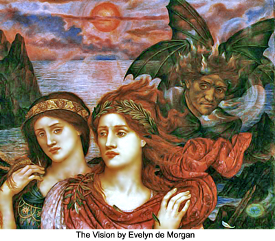 The Vision by Evelyn de Morgan