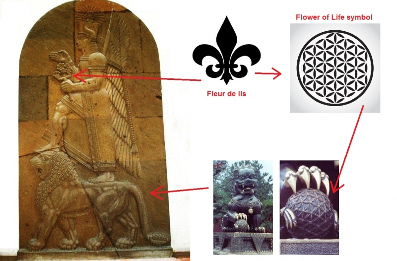 origins of the fleur de lis