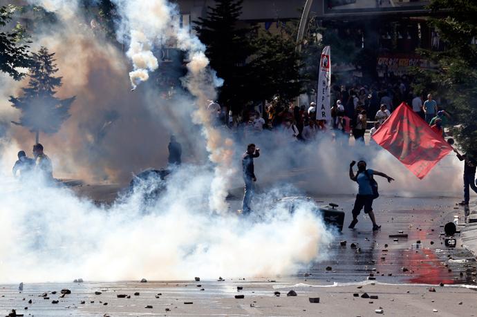 turkish police brutally i