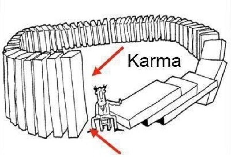Karma - going round