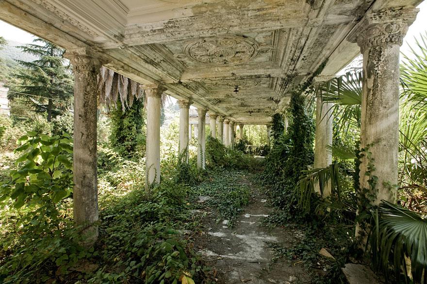 Abandoned train station in Georgia
