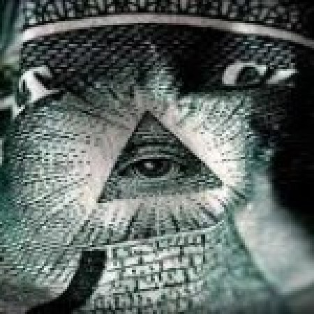 The triangle and all seeing eye as seen on the American dollar bill