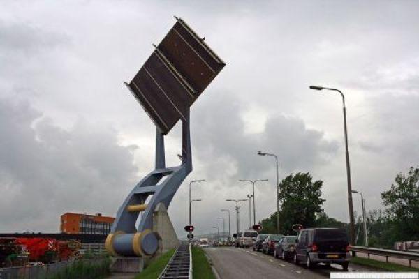 Bridge Slauerhoffbrug, Netherlands