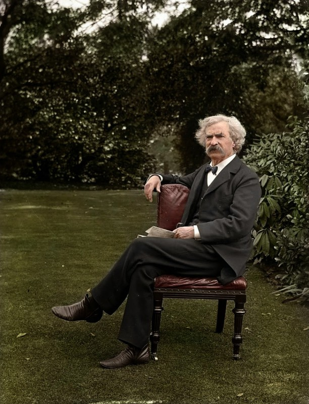 Mark Twain, approx. 1900