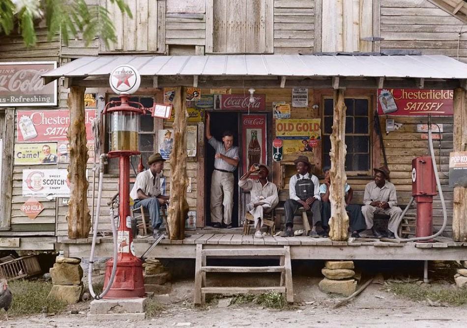 'Old Gold', provincial shop, 1939