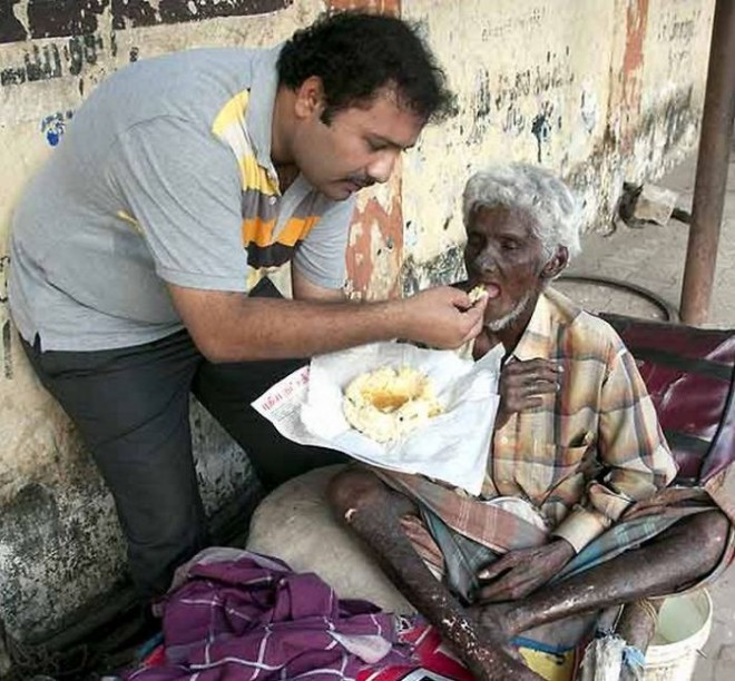 The Krishnan Was winning chef quit his job to feeding the homeless and people with disabilities.