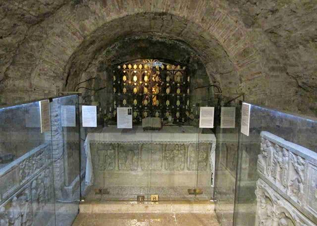 sarcophagus of Mary Magdalene