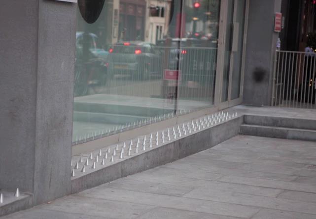 Homeless-spikes