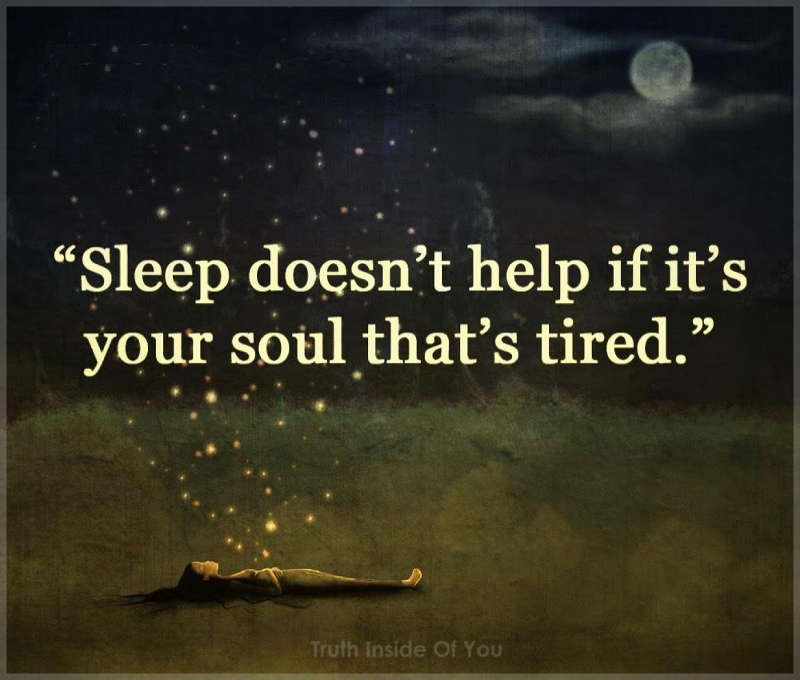 Sleep doesn