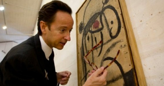 Joan Miro's paints auctioned