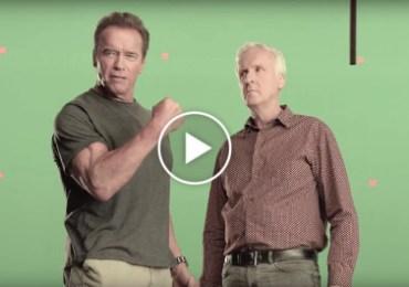 Arnold Schwarzenegger & James Cameron1