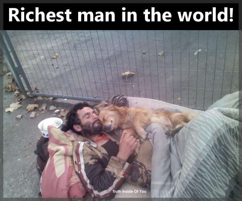 Richest man in the world!